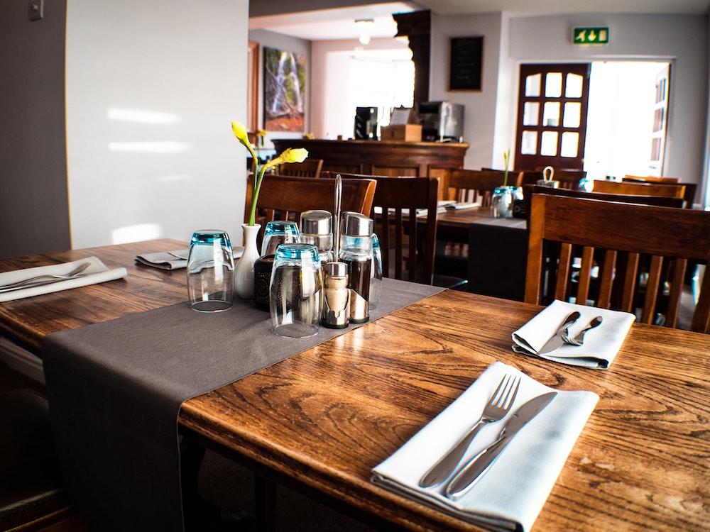 Dining Room at HQ Bar & Restaurant